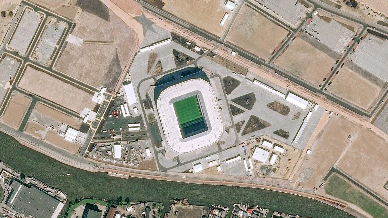 World Cup Stadium Built Over Russian City's Last Rare Wildlife Habitat