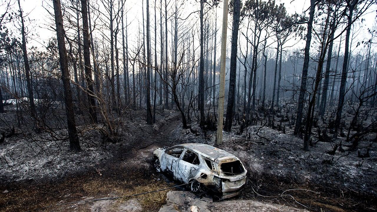 Florida's Limerock Fire Destroys 36 Homes (PHOTOS)