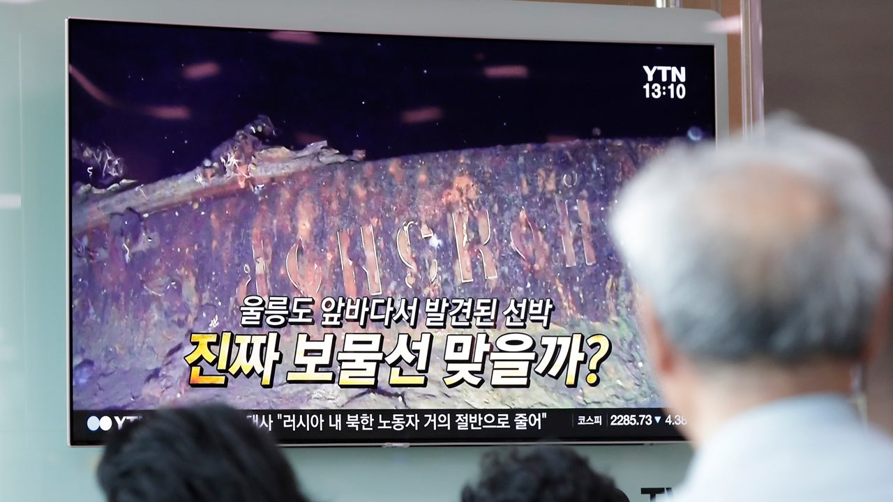 Sunken Russian Warship Discovered Off South Korean Coast Could Have $132 Billion in Gold on Board, Explorers Say