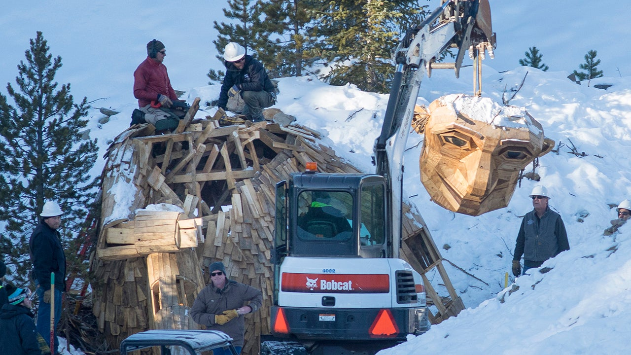 How a Giant Wooden Troll Left a Colorado Town Divided (PHOTOS)