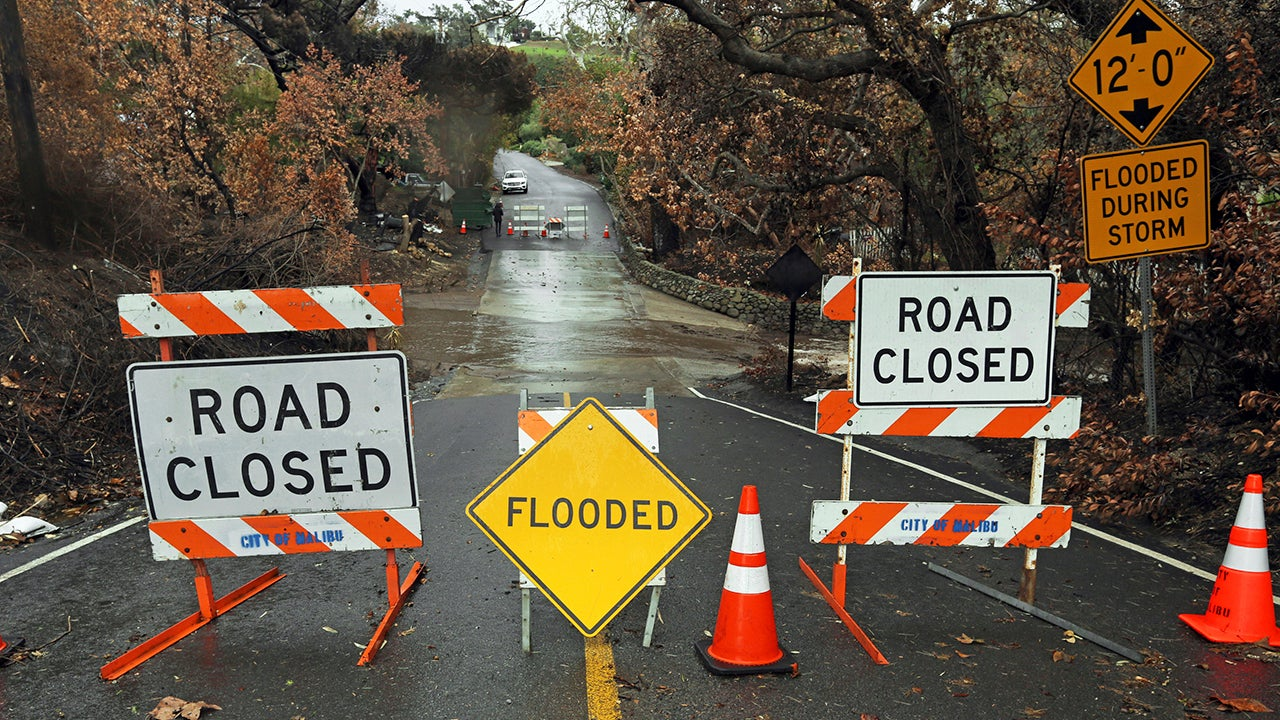Heavy Rain, Mudslides and Evacuations in California as Winter Storm Diego Gets Started (PHOTOS)