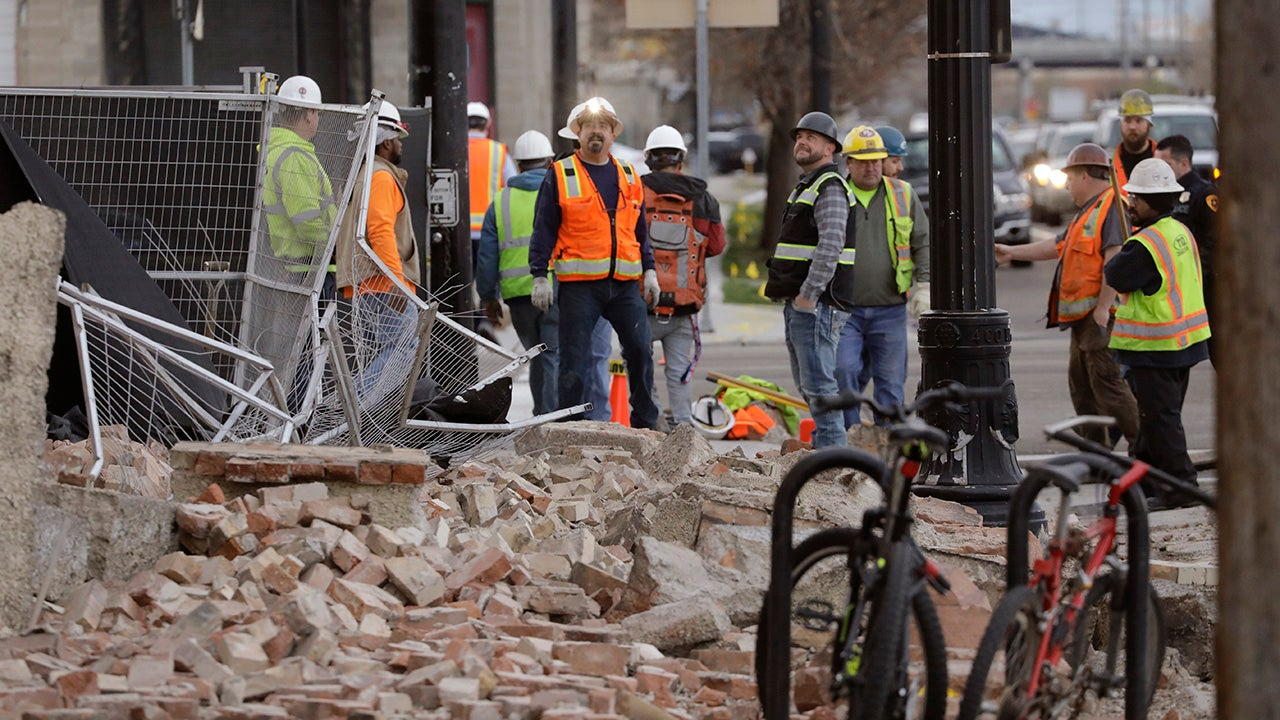 Utah's Earthquake, in Photos
