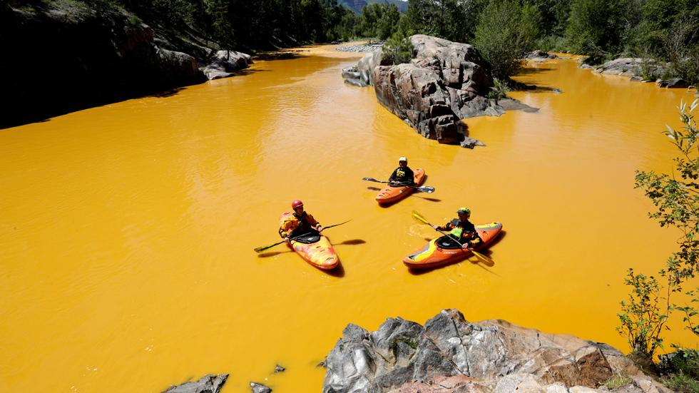 Colorado Mine Spill Released 540 Tons of Metals into Animas River