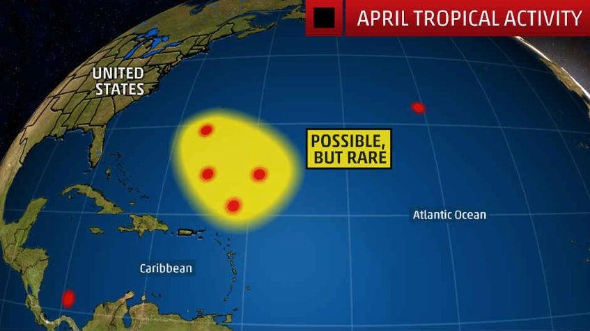 the tropics can come alive in april
