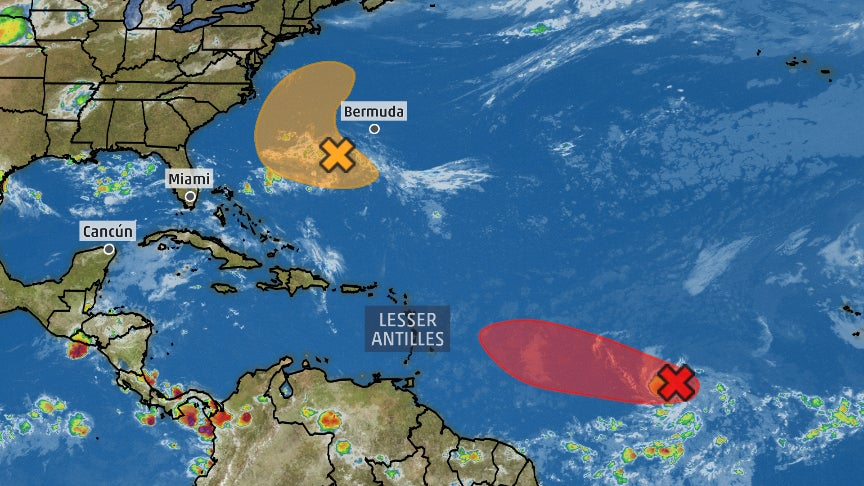 Invest 95L May Become a Tropical Depression Today, But Here's Why It's Not a Serious Threat For the Lesser Antilles
