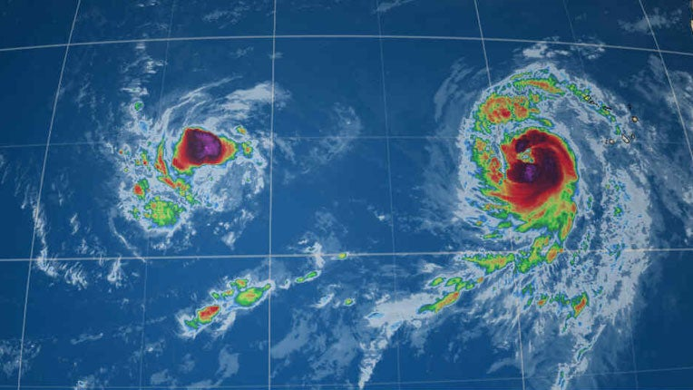 hurricanes isaac and helene on the heels of florence in