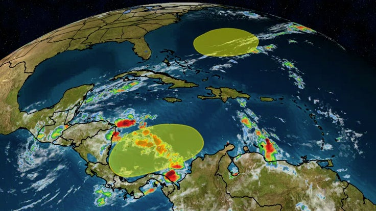 Atlantic Hurricane Season Isn't Over Yet: Another System May Develop in the Southwest Caribbean