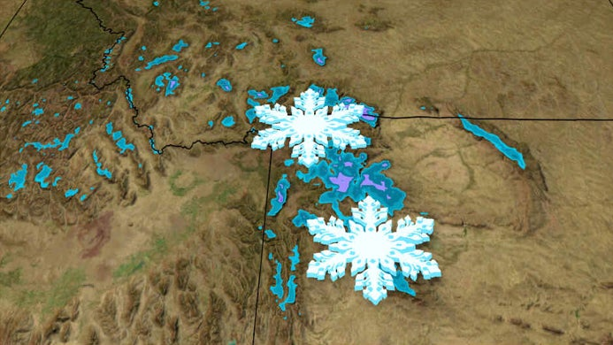 First Winter Weather Advisories of the Season Issued for the Lower 48 as Snow Blankets Northern Rockies