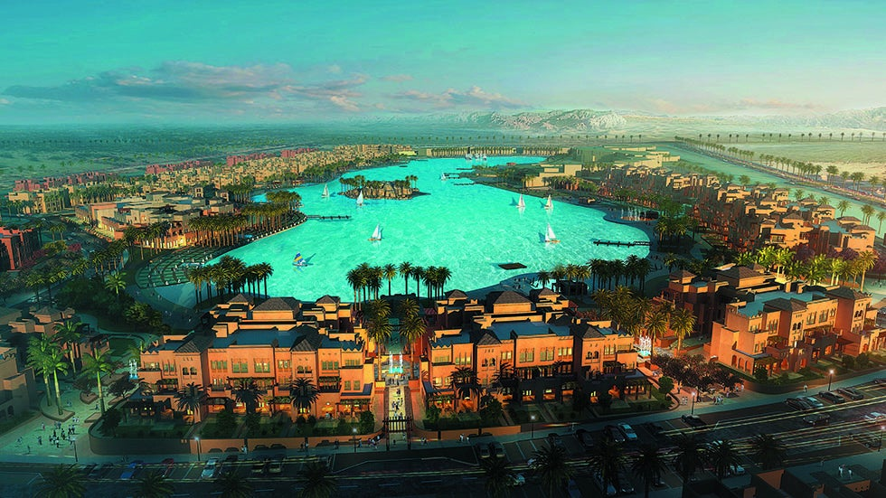 World 39 s largest pool to open in egypt the weather channel for Stars swimming pool tacloban city