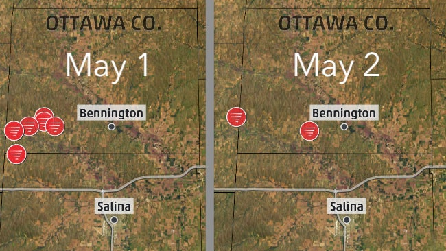 A Kansas County Just Had Tornadoes on Consecutive Days; That's Not as Strange as It Sounds