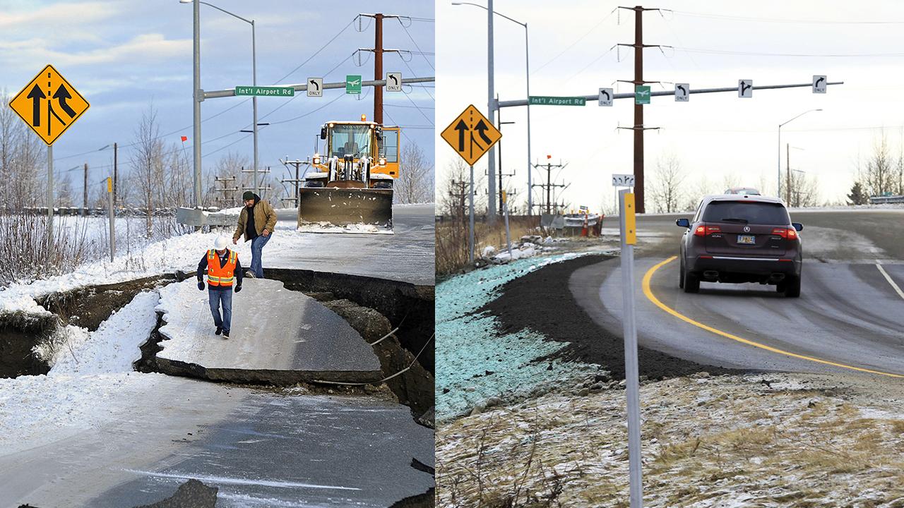 Alaska Repairs Earthquake Damage in an Impressive 72 Hours (PHOTOS)