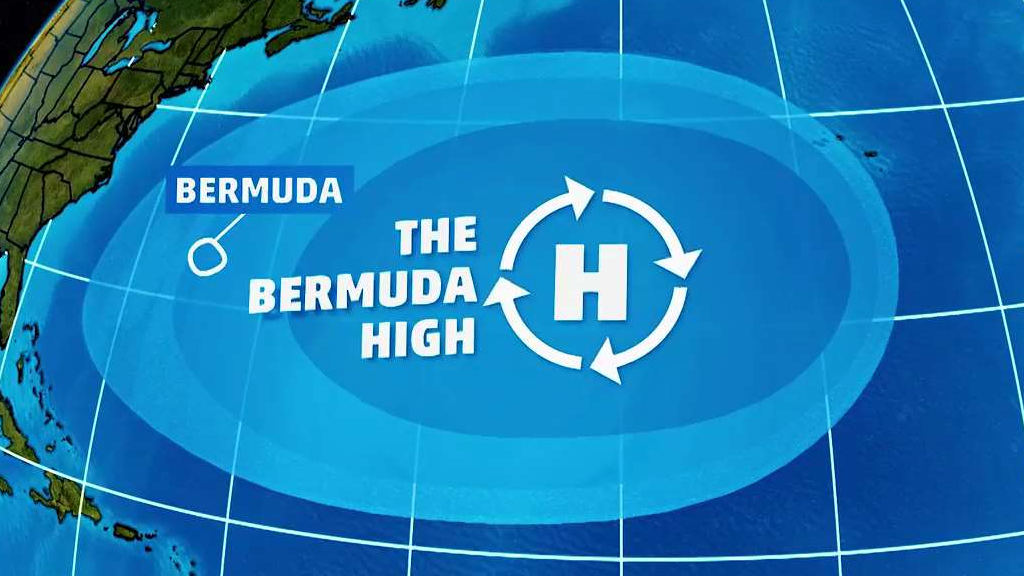 how the bermuda high steers hurricanes the weather channel
