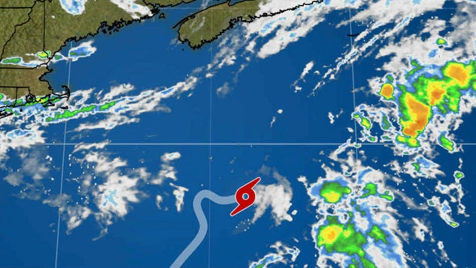 Subtropical Storm Beryl to Dissipate as it Tracks Away From the U.S.