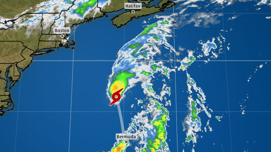 Beryl Redevelops as a Subtropical Storm en Route to Newfoundland
