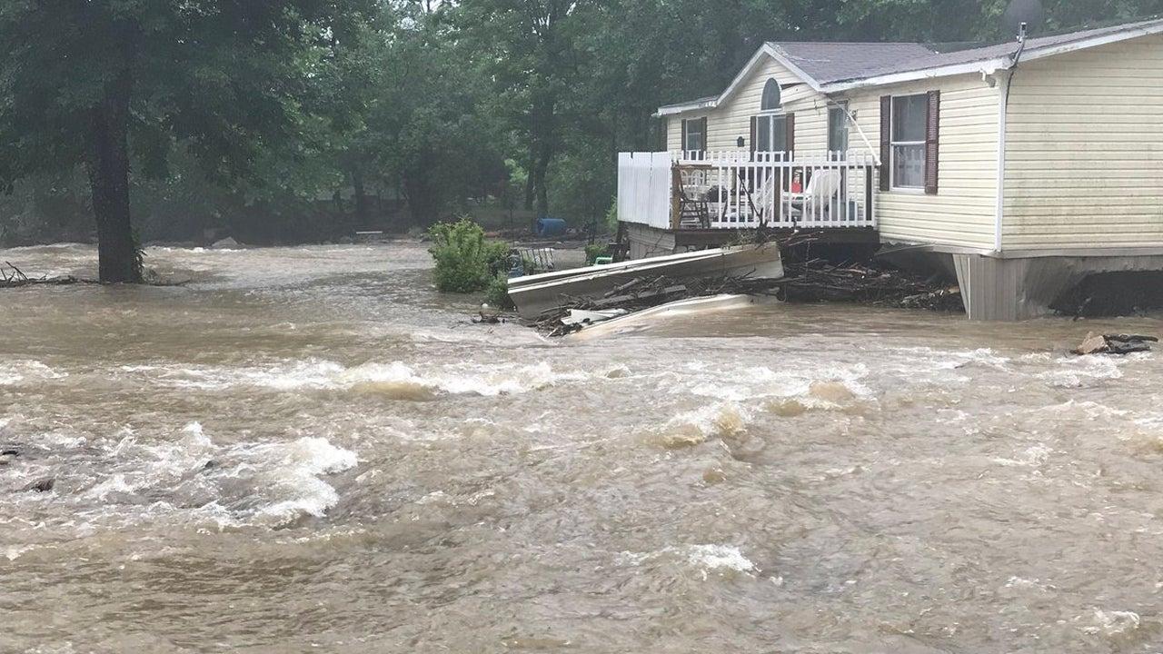 Mudslide Collapses Watauga County, North Carolina, Home as Deadly Subtropical Storm Alberto Heads Inland