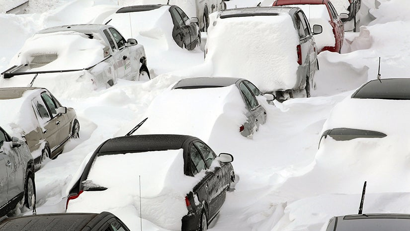 how to survive if you are stranded in a blizzard