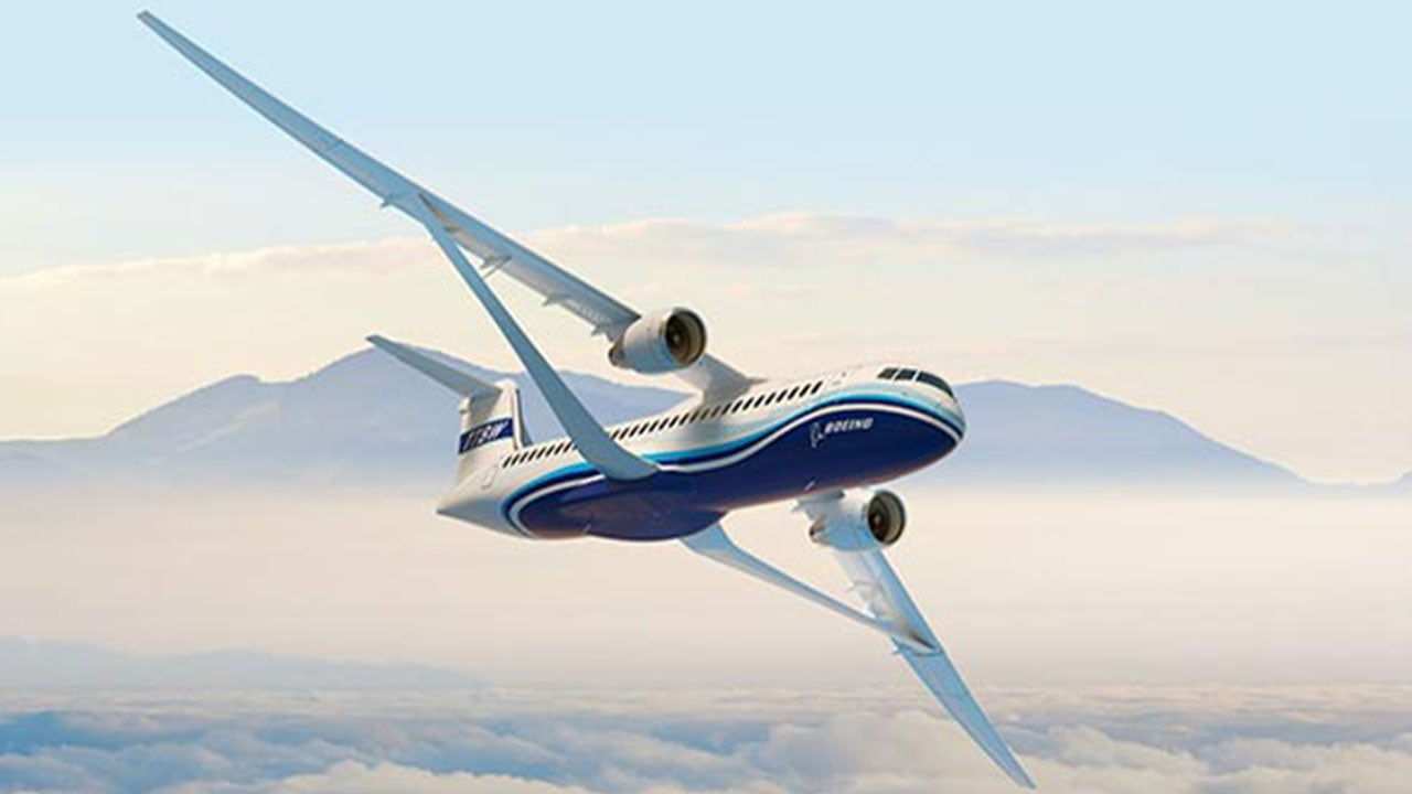 Boeing's New 'Transonic' Wing Could Send Planes Higher, Faster