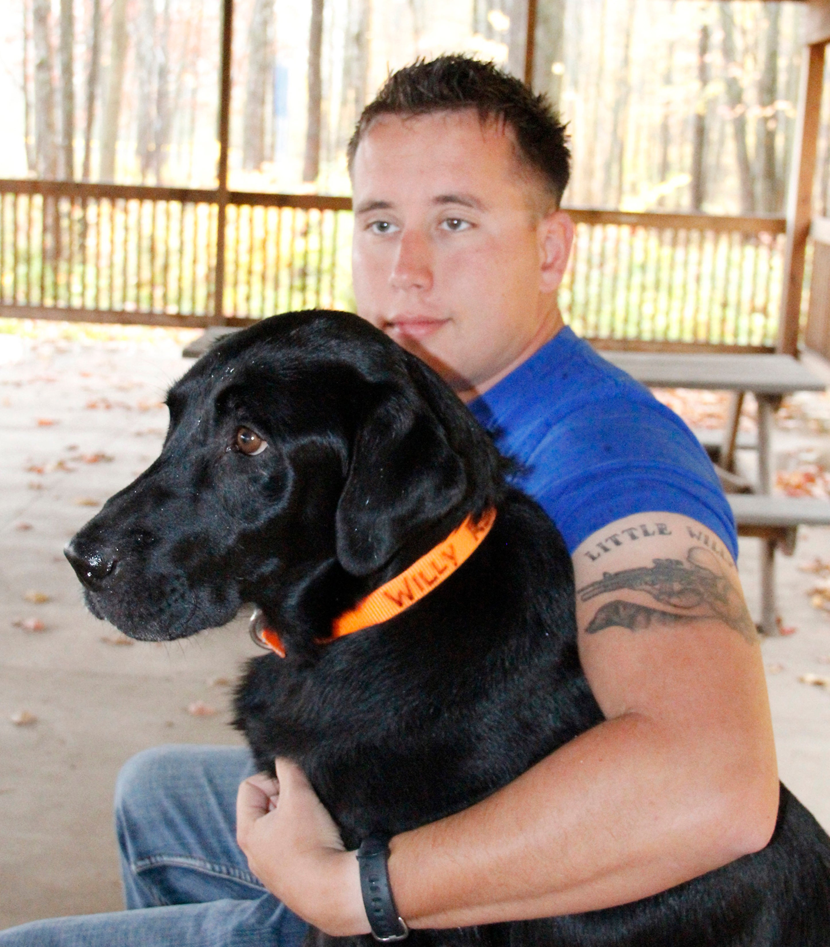 Afghanistan Vet Adopts Bomb-sniffing Dog