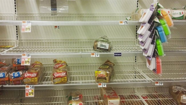 How to: Stock Your Pantry During Blizzard Season