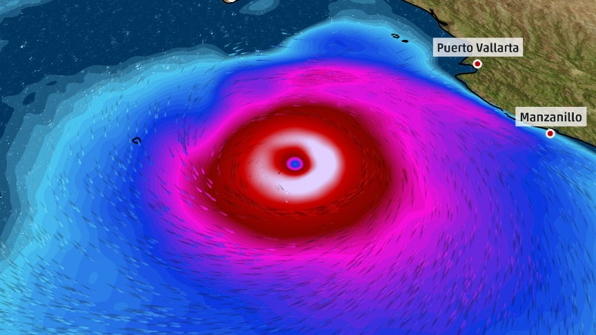 hurricane bud still at category 3 in the eastern pacific