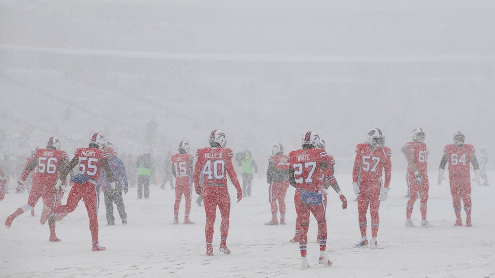 sunday u0026 39 s historic snowy game is why buffalo has the nfl u0026 39 s