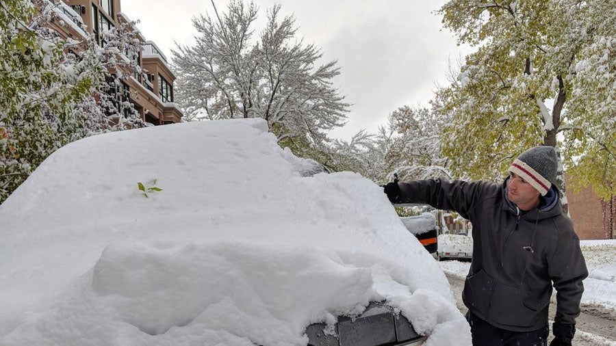 calgary just had its snowiest day in more than three
