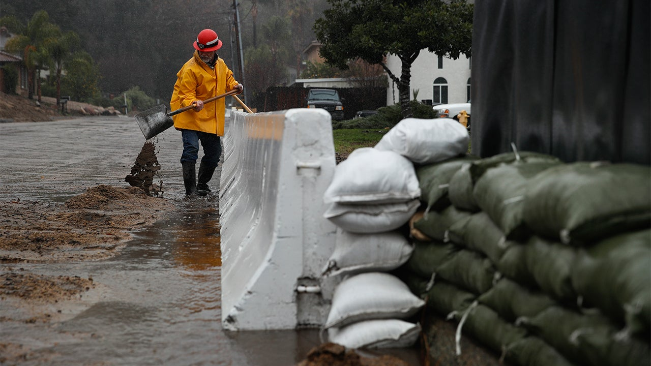 California Storms Trigger Water Rescues, Mudslides: Death