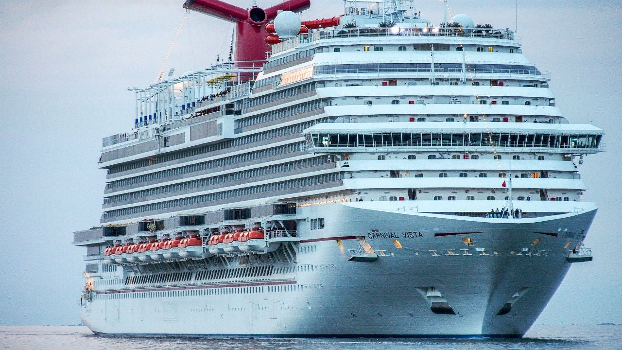 Carnival Vista Cruise Ship Creates 39MiniTsunami39 That Destroys Itali