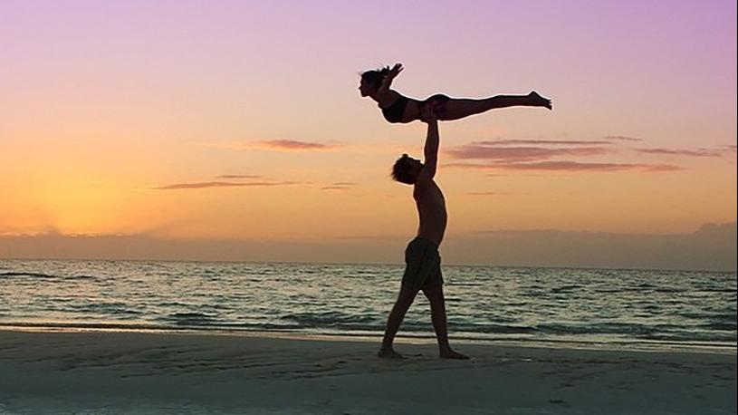 The Best Workout for Love: AcroYoga Images in Honor of Valentine's Day