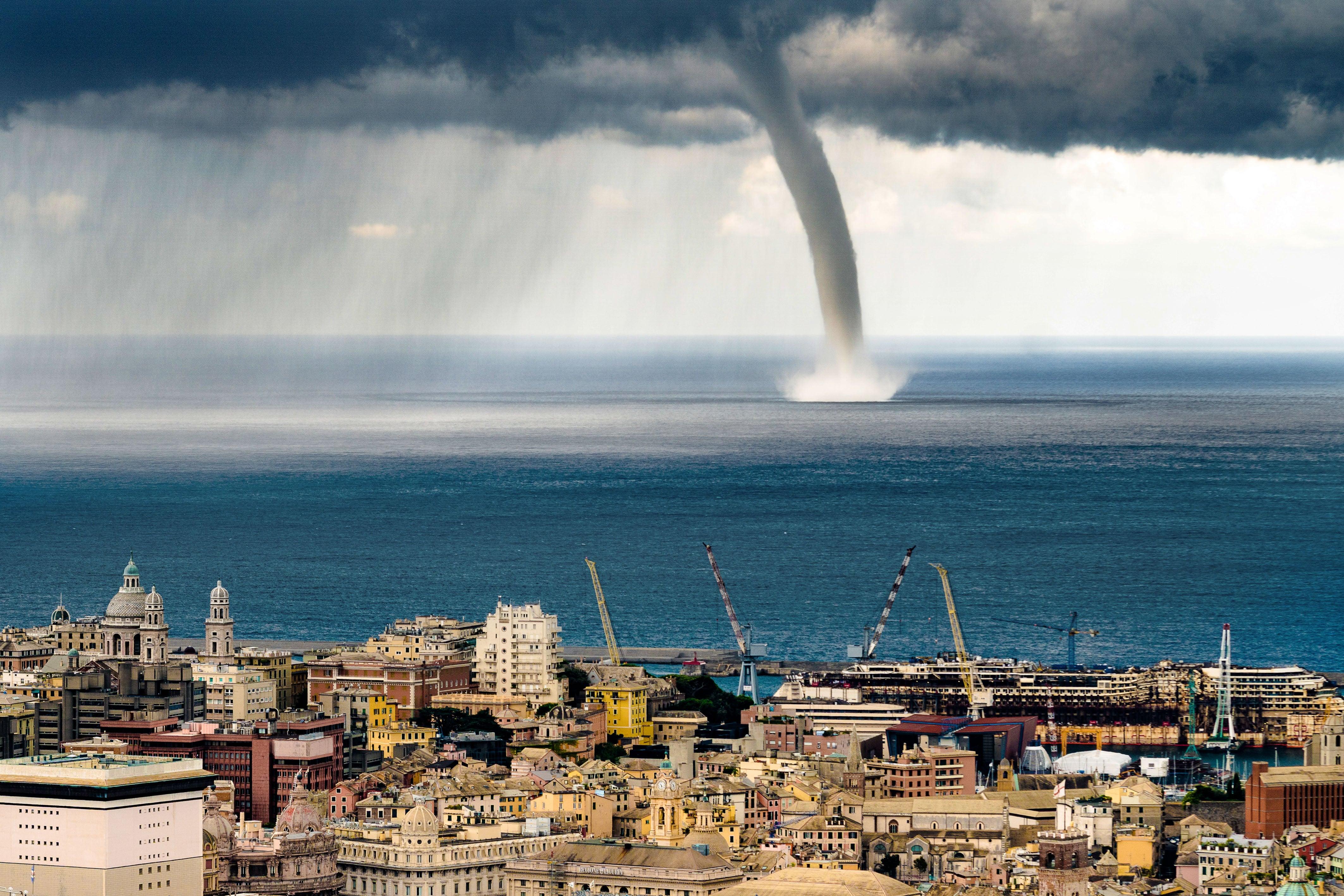 Genoa Italy Weather Radar