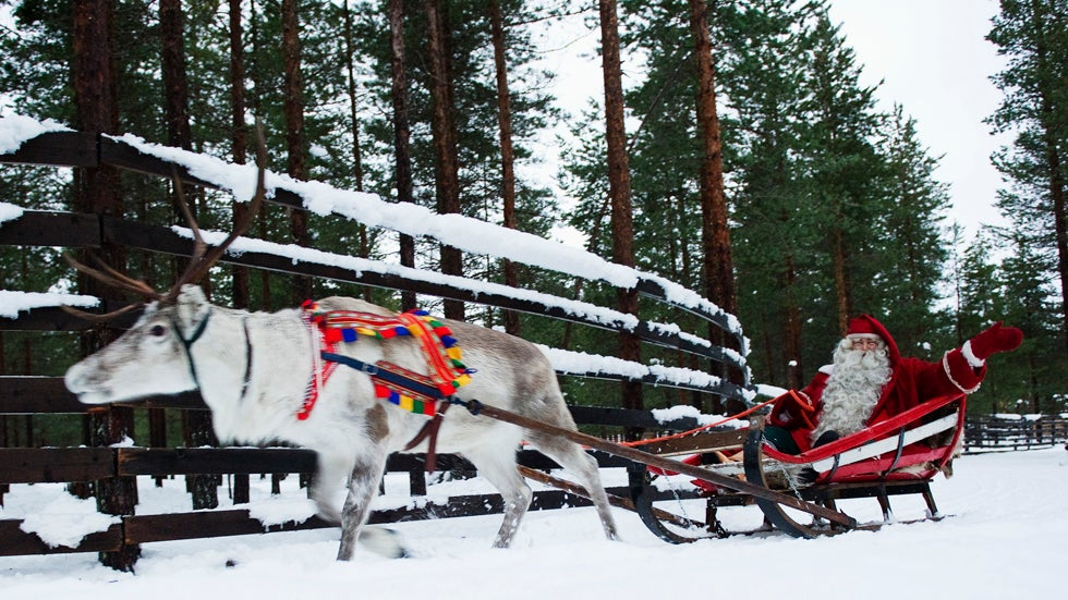 Most Festive Place on Earth: Santa's Hometown in Rovaniemi, Finland (PHOTOS)