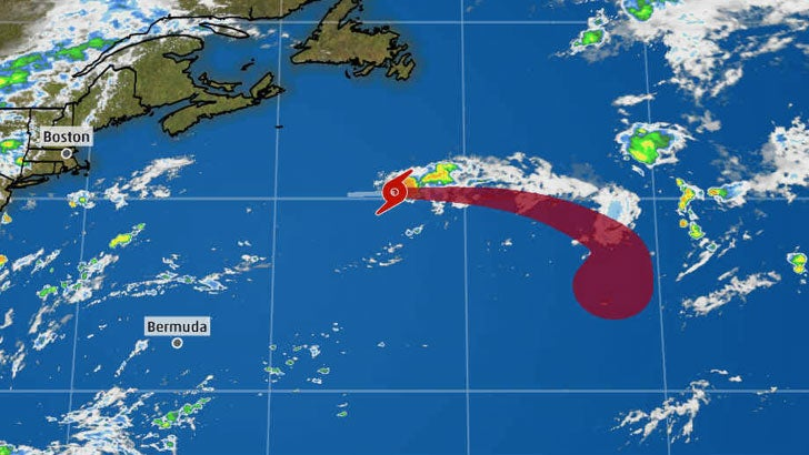 Tropical Storm Chantal Forms in the North Atlantic and Is No Threat to Land