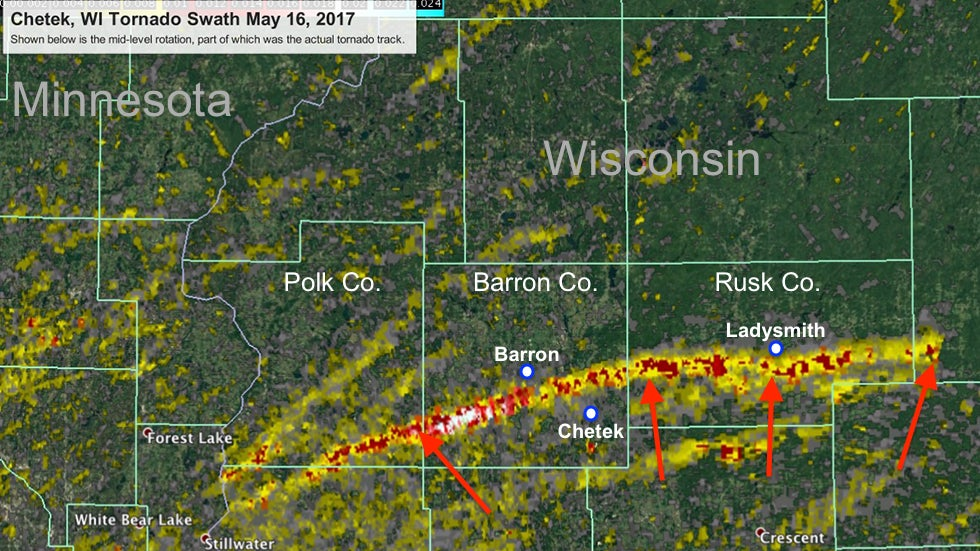 deadly chetek tornado was wisconsin u0026 39 s longest on record