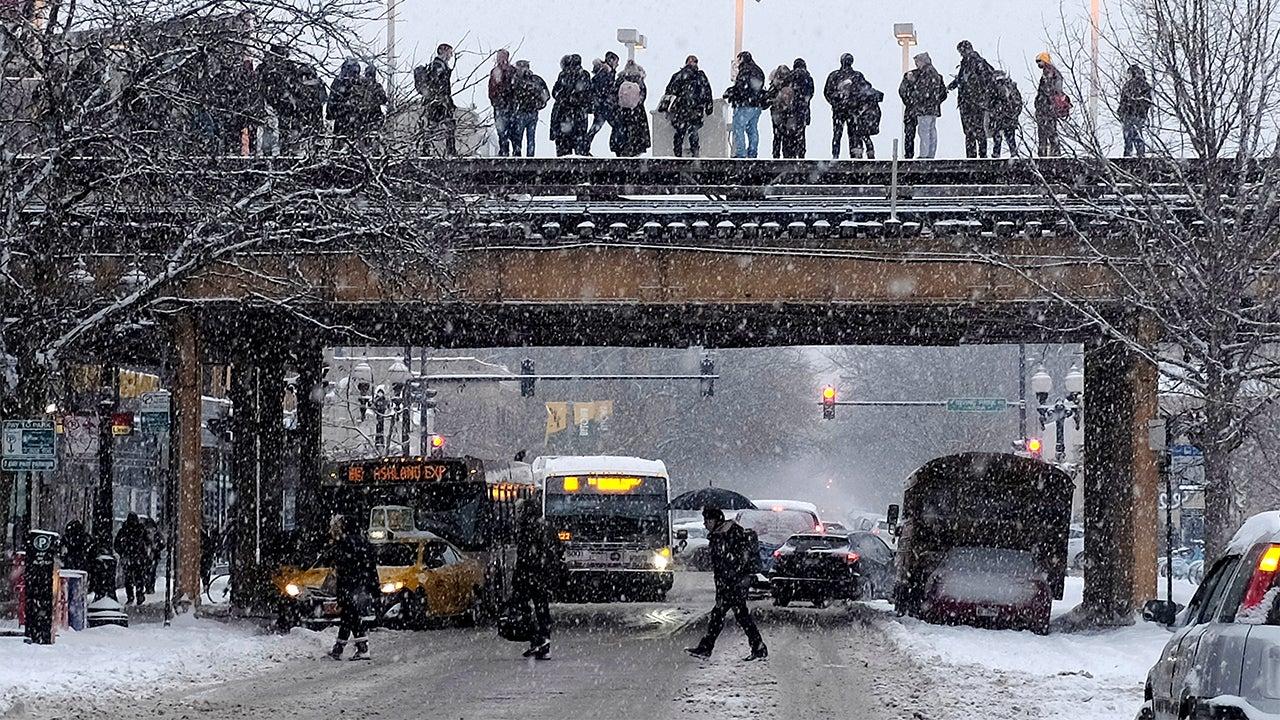 Winter Storm Jayden: 2 Pileups Shut Down Highways in