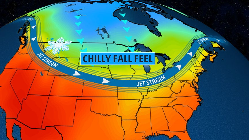 Chilly Conditions Expected in Northern Plains, Upper Midwest Into Early Week; Snow to Blanket Northern Rockies This Weekend
