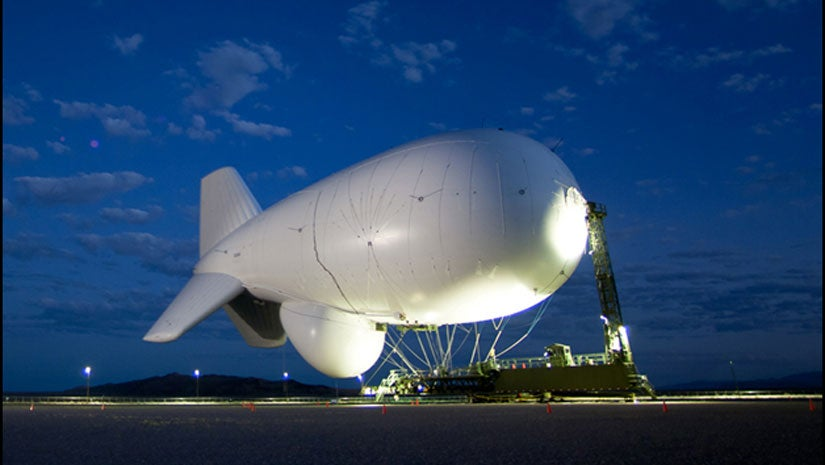 JLENS Blimp Lands in Pennsylvania After Breaking Free Outside Washington, D.C., in Windy Conditions