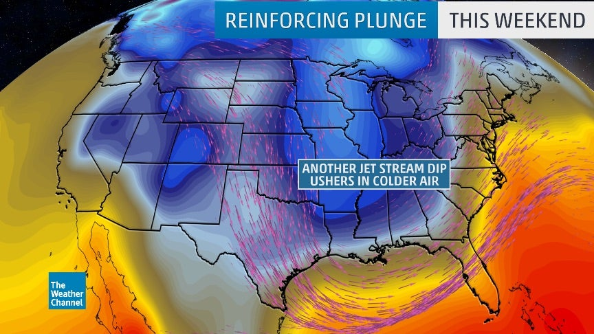 Second Cold Plunge Into Early Week Could Bring Frost Freeze to