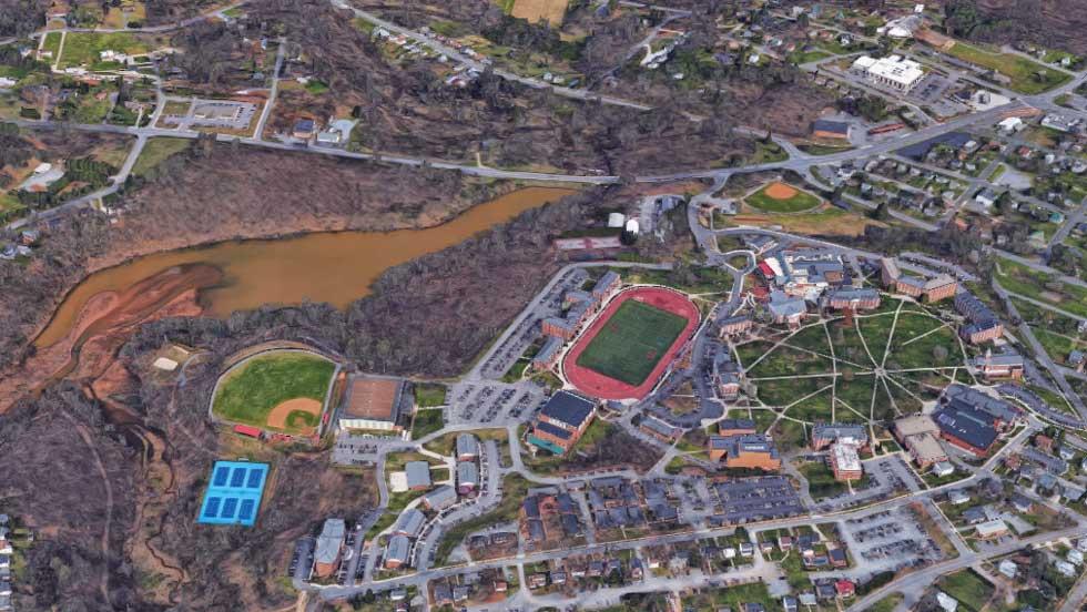 Developing Now: Dam Near Lynchburg, VA Above Capacity | The Weather ...