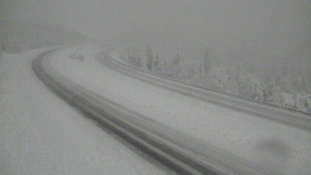 First Blizzard Of The Season Breaks October Snow Record In Havre