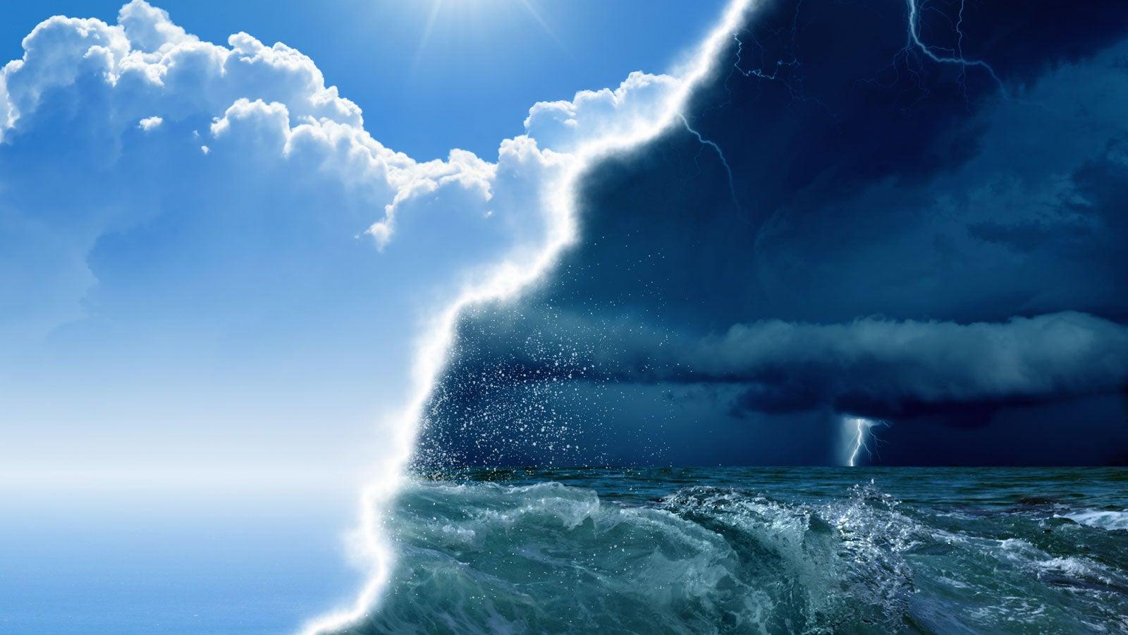 Was Niederschlagswahrscheinlichkeit bedeutet