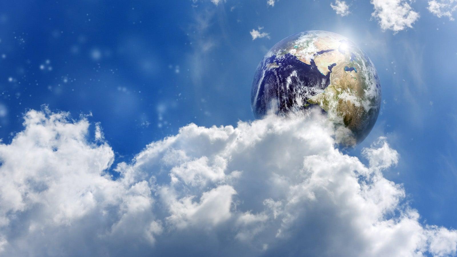 Die Weiten der Erdatmosphäre: Wo das Wetter entsteht