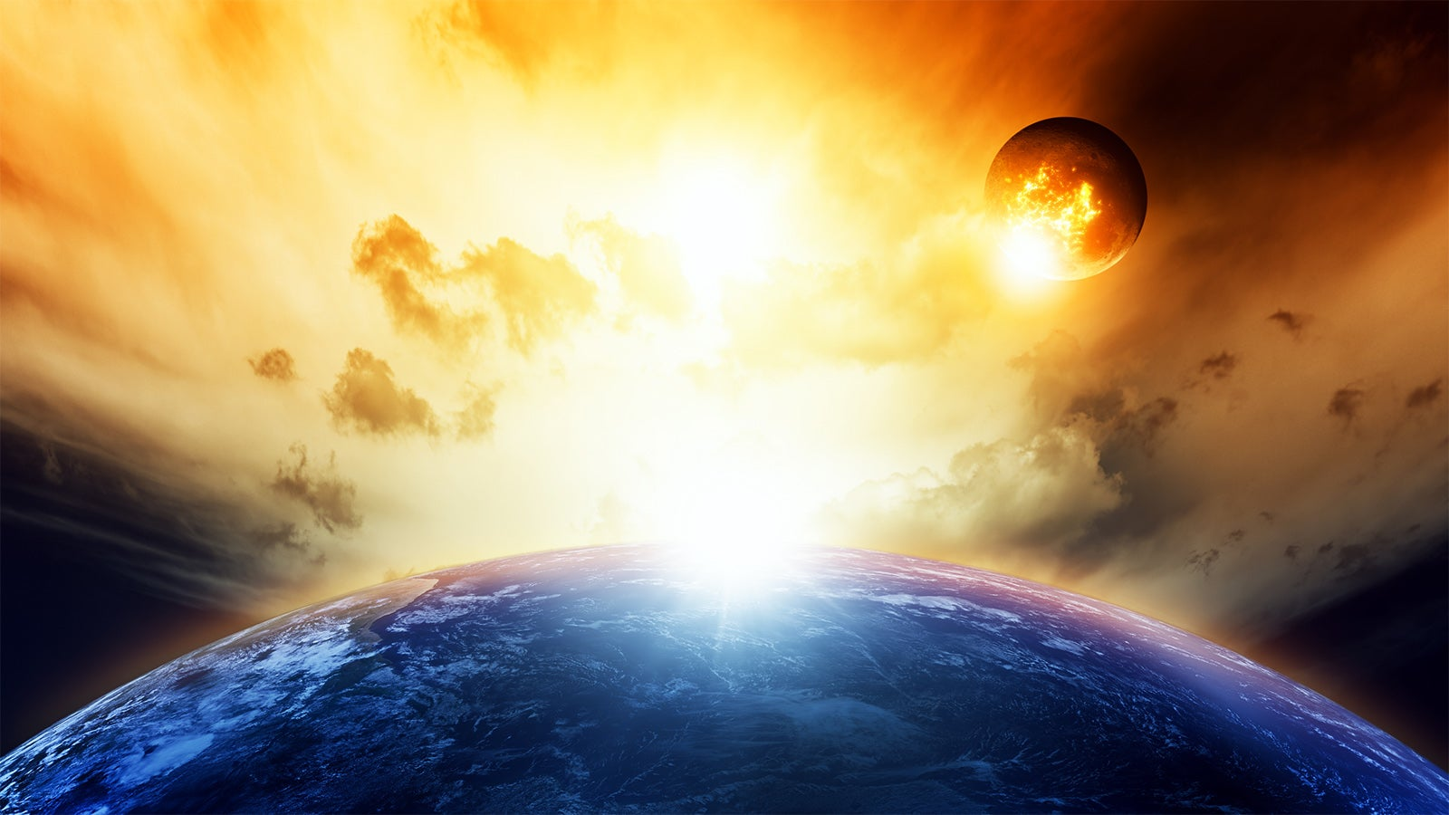 Auf Kollisionskurs: Dunkle-Materie-Hurrikan soll auf Erde treffen
