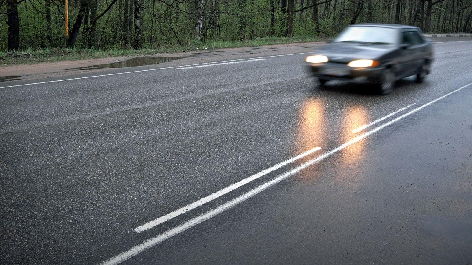 Achtung, die Straßen werden glatt: Hier droht Bodenfrost