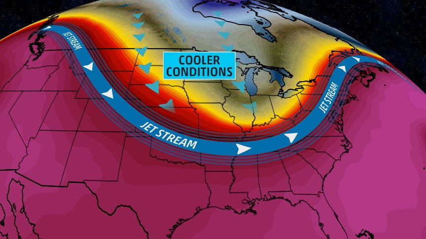 Refreshing Pattern Change to Scour Out Heat, Humidity in Central, Eastern U.S. This Week