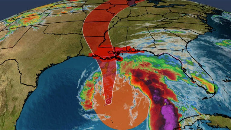 Tropical Storm Cristobal Expected to Strenghten As It Aims For Gulf Coast Sunday; Tropical Storm, Surge Warnings Issued