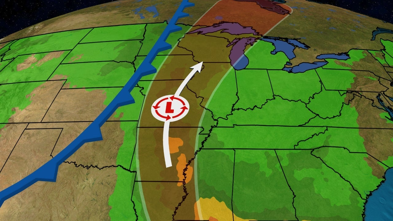 Cristobal's Inland Track to Bring Heavy Rain, Possible Flooding From the Lower Mississippi Valley to the Midwest