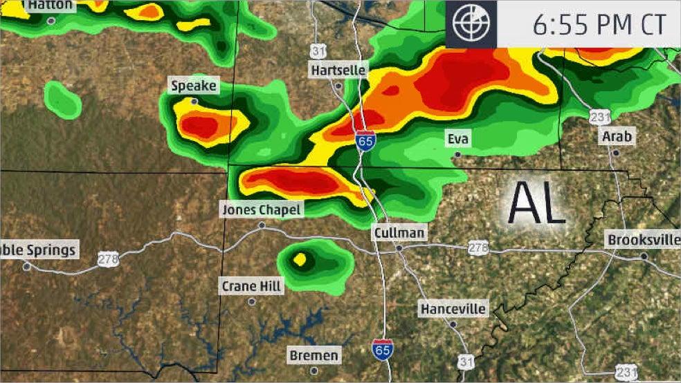 Likely Tornado Injures 3, Including Infant, Near Cullman, Alabama