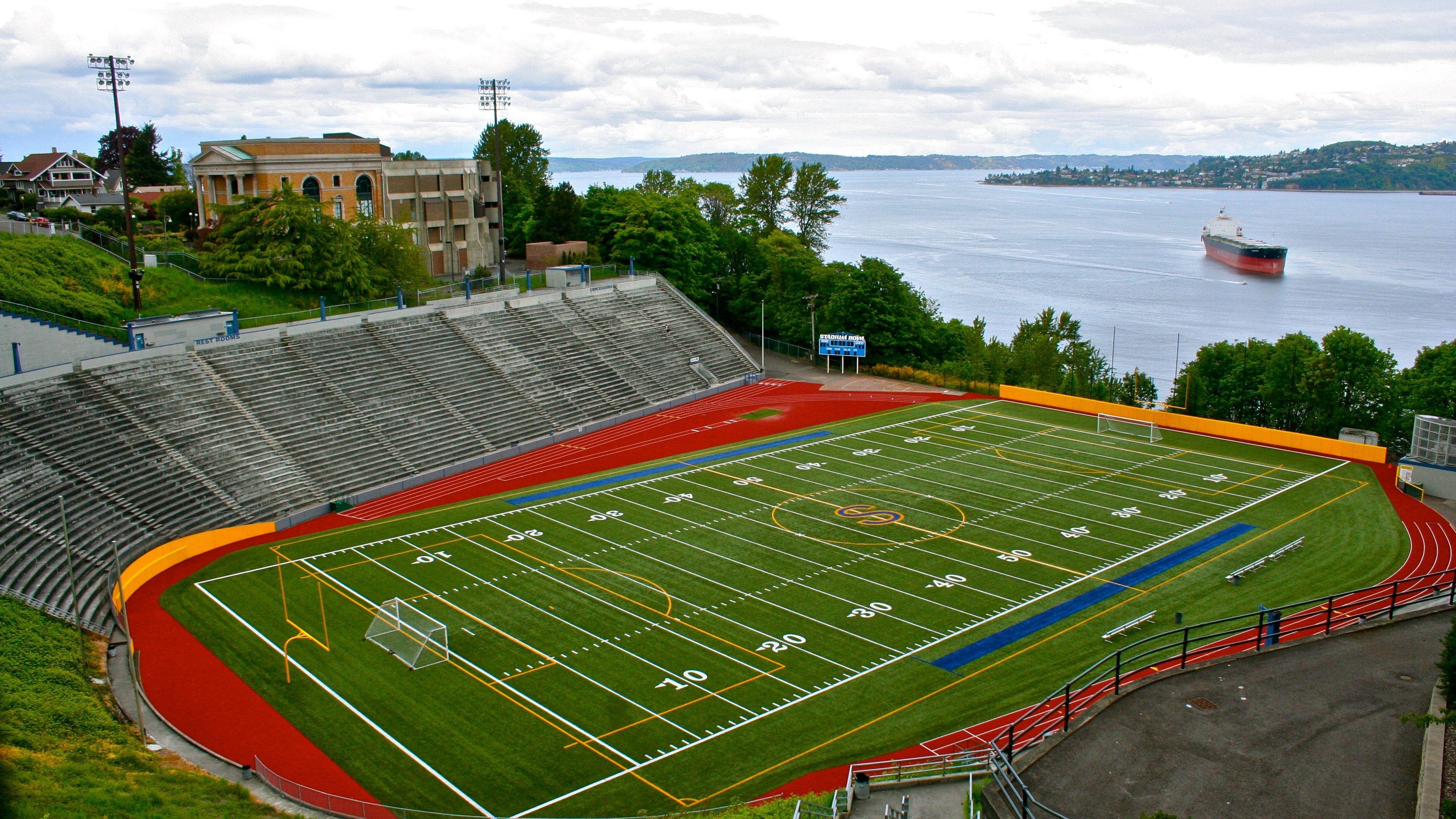 Huge High School Football Stadiums Across America
