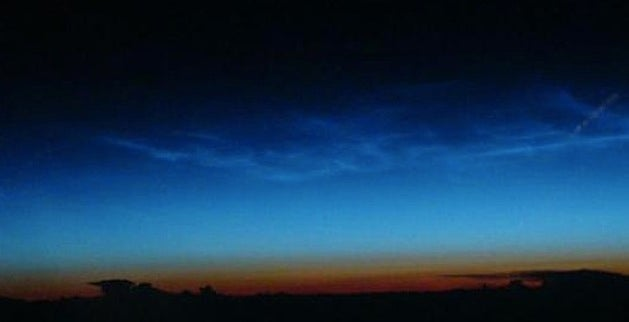 Noctilucent Clouds: Earth's Highest Clouds Are Now in View in Parts of the Northern Hemisphere