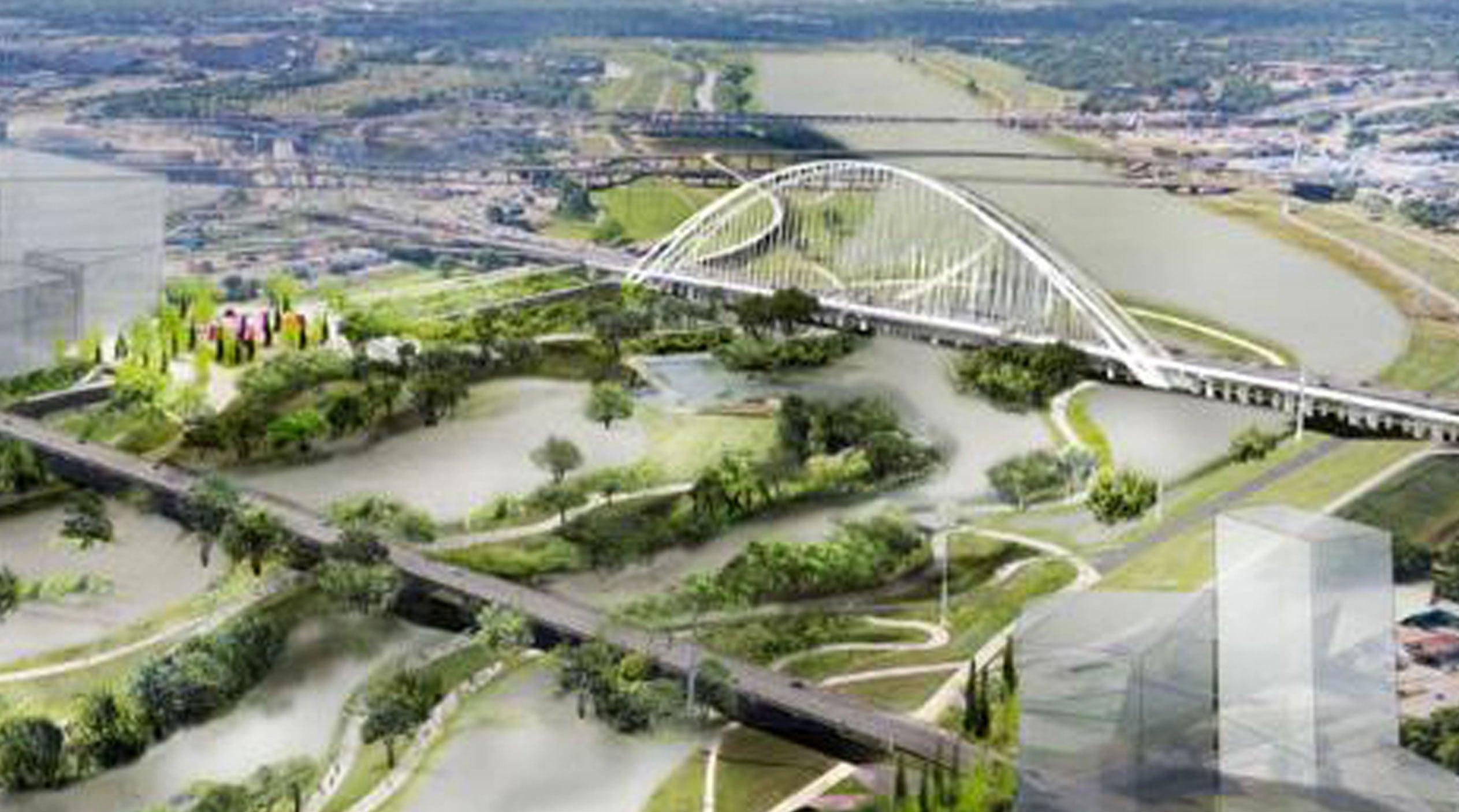 Dallas construirá el parque urbano ecológico más grande del país